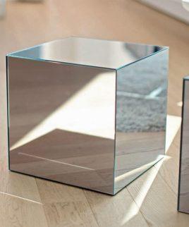 Куб декоративный зеркальный 20*20